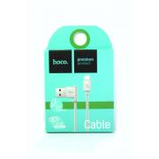 Кабель micro USB Hoco UPM10 угловой, силиконовый, белый
