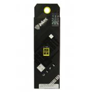 Кабель micro USB вилка Inkax CK-08-MICRO, черный, 1м