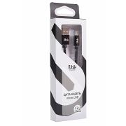 Кабель micro USB Ubik UM01, carbon, черный