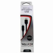 Кабель Type-C C530 Walker, черный
