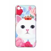 Чехол (клип-кейс) Hoco для iPhone 5 Кошка принцесса