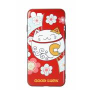 Чехол (клип-кейс) Hoco для iPhone 5 Котик удачи