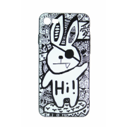 Чехол (клип-кейс) Hoco для iPhone 5 Заяц пират