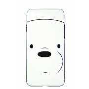 Чехол Hoco для iPhone 7+ Белый мишка