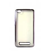 Прозрачный силиконовый чехол с черным бампером для Xiaomi Redmi 4A