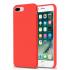 Силиконовая накладка Hoco Pure series для iPhone 8, цвет красный