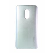 Чехол MOTOMO для Xiaomi Redmi Note 4 силиконовый серебряный