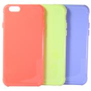 Силиконовый чехол Wuw для iPhone 6/6s набор цветных чехлов 3 в 1