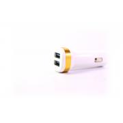 Автомобильное зарядное устройство EMY MY-121 2USB + 2.1A с кабелем для iPhone 5/6