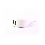 Сетевое зарядное устройство EMY MY-269 с кабелем iPhone 5/6 (2.1A + 2USB)
