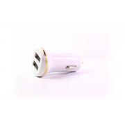 Автомобильное зарядное устройство Hoco Z1 с кабелем для iPhone 5/6 (2100 mA + 2 USB)