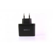 Сетевое зарядное устройство InterStep  (2000 мА + 2 USB)