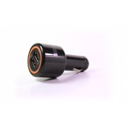 Автомобильное зарядное устройство InterStep с кабелем micro (2000 mA + 2 USB)