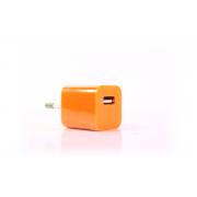 Сетевое зарядное устройство для iPhone 1USB оранжевый