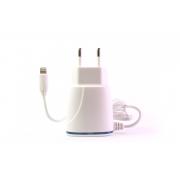 Сетевое зарядное устройство Kingleen C-820 для iPhone 5/6/7 (2100 mA + 1 USB разъем)