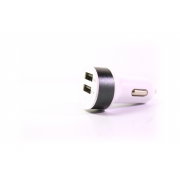 Автомобильное зарядное устройство (1000 и 2100 mA + 2 USB)