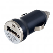 Автомобильное зарядное устройство для телефона Perfeo I4608 (1A + 1USB) черный