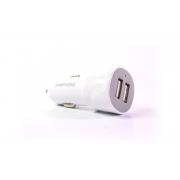 Автомобильное зарядное устройство Samphone 2USB с кабелем micro-usb