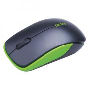Компьютерная мышь Perfeo PF-763-WOP «ASSORTY», черно-зеленая