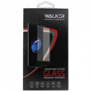 Защитное стекло с черной рамкой 5D для iPhone X Walker