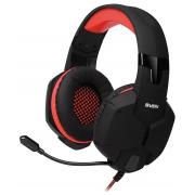 Компьютерная гарнитура SVEN AP-G988MV черно-красные с микрофоном