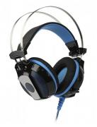 Компьютерная гарнитура SmartBuy PYTHON черно-синие с микрофоном