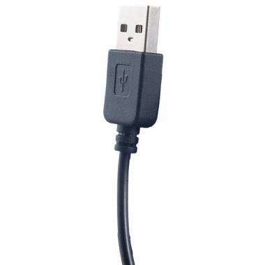 Компьютерная USB гарнитура Perfeo PF-SWT-BLK/RED «SWAT»  черно-красная с микрофоном