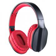 Компьютерная гарнитура Perfeo DUAL черно-красная с микрофоном
