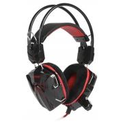 Компьютерная гарнитура SmartBuy RUSH SNAKE черно-красные с микрофоном
