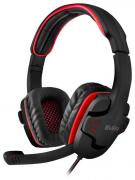 Компьютерная гарнитура SVEN AP-G855MV черно-красные с микрофоном
