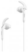 Наушники Hoco M6 Control Earphone вкладыши белые с микрофоном