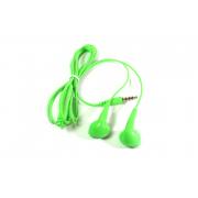 Наушники Hoco M9 вкладыши зеленые с микрофоном