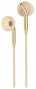 Наушники Hoco M25 Your meaning вкладыши золотые с микрофоном