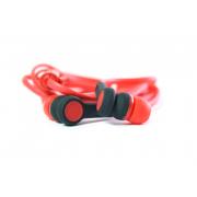Наушники Walker H330 Soft touch гарнитура красные (с микрофоном и кнопкой ответа)