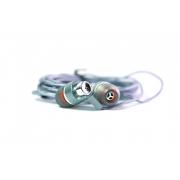 Наушники Walker H520 гарнитура темно-серые (с микрофоном и кнопкой ответа) матерчатый провод, угловой разъем