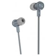 Наушники Hoco M7 Universal Metal Earphones вставные (затычки) с микрофоном, цвет серый