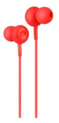 Наушники Hoco M24 Leyo Universal Earphone вставные (затычки) с микрофоном, цвет красный