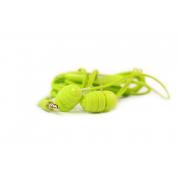 Наушники капельки Joyroom EL112  вакуумные (капельки) зеленые