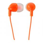 """Наушники Perfeo PF-IPD """"IPD"""" вставные (затычки), цвет оранжевый"""