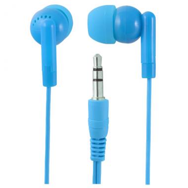 Наушники Perfeo PF-NNM вставные (затычки), цвет синий