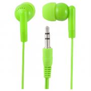 Наушники Perfeo PF-NNM вставные (затычки), цвет зеленый