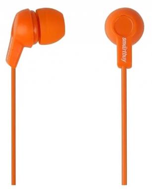 Наушники SmartBuy Jazz, вставные (затычки), цвет орнажевый