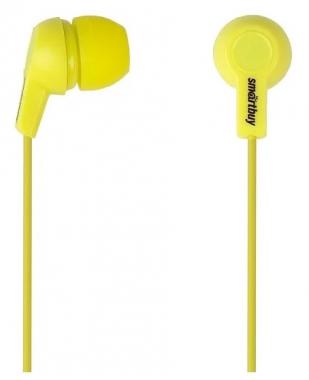 Наушники SmartBuy Jazz, вставные (затычки), цвет желтый
