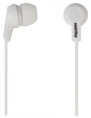 Наушники SmartBuy Jazz вставные (затычки), цвет белый