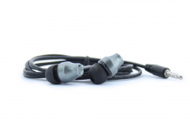 Наушники капельки Walker H310 вставные (вакуумные) темно-серые