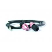 Наушники капельки Walker H310 вставные (вакуумные) розовые