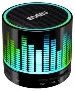 Портативная акустика Sven PS-47, 1.0, FM-тюнер, USB, microSD, Bluetooth, черная с подсветкой