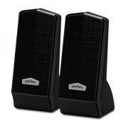 """Колонки для компьютера Perfeo """"CURSOR"""" 2.0, мощность 2х3 Вт (RMS), черные, USB"""