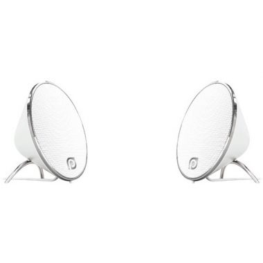 "Колонки для компьютера Perfeo ""Duet"" 2.0, мощность 2х5 Вт (RMS), белые, USB"