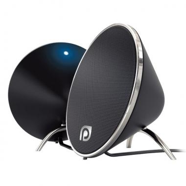 """Колонки для компьютера Perfeo """"Duet"""" 2.0, мощность 2х5 Вт (RMS), черные, USB"""